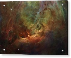 Details Of Orion Nebula Acrylic Print by Marianna Mills