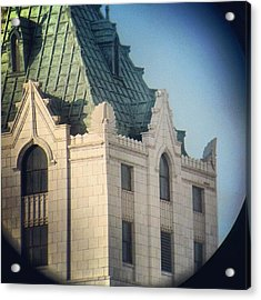 Details Of The Pittsfield  Acrylic Print