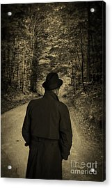 Hard-boiled Detective Novel Acrylic Print