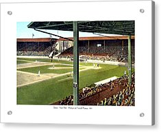 Detroit - Navin Field - Detroit Tigers - Michigan And Trumbull Avenues - 1914 Acrylic Print