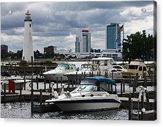 Detroit Boat Docks Acrylic Print