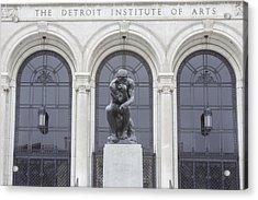 Detroit Institute Of Art Acrylic Print