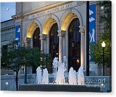 Detroit Institute Of Arts Acrylic Print