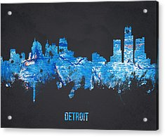 Detroit Michigan Usa Acrylic Print