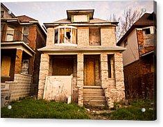 Detroit Neighborhood Acrylic Print