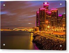 Detroit Riverwalk Acrylic Print