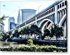 Detroit-superior Bridge - Cleveland Ohio - 1 Acrylic Print