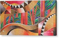 Deuba Sunset Acrylic Print