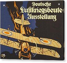 Deutsche Luftkriegsbeute Ausstellung Acrylic Print by Siegmund von Suchodolski