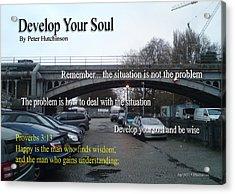 Develop Your Soul Acrylic Print
