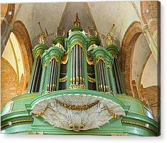 Deventer Organ Acrylic Print