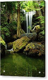 Devil Creek Falls  Acrylic Print