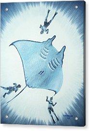 Devil Fish Acrylic Print