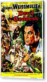 Devil Goddess, Us Poster, Johnny Acrylic Print by Everett