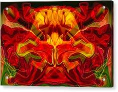 Devilish Acrylic Print by Omaste Witkowski