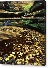 Devil's Bathtub Acrylic Print
