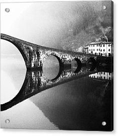 Devil's Bridge Acrylic Print by Franco Maffei