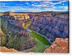 Devil's Canyon Overlook Acrylic Print