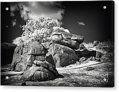 Devils Den - Gettysburg Acrylic Print by Paul W Faust -  Impressions of Light