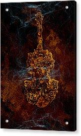 Devils Fiddle Acrylic Print by Fran Riley