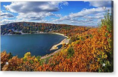 Devil's Lake In Autumn Acrylic Print