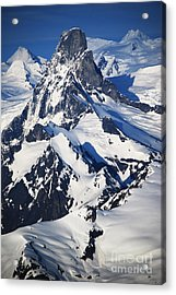 Devil's Thumb From The Air Acrylic Print by Cynthia Lagoudakis