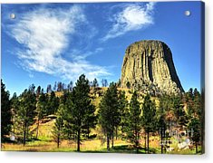 Devils Tower Encounter 2 Acrylic Print