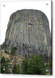 Devils Tower National Monument Acrylic Print by Elizabeth Sullivan