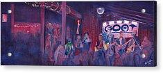 Dewey Paul Band At The Goat Nye Acrylic Print
