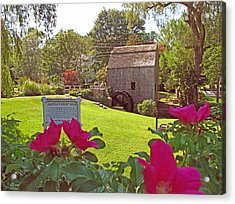 Dexters Grist Mill Two Acrylic Print