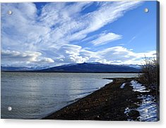 Dezadeash Lake Acrylic Print by Cathy Mahnke