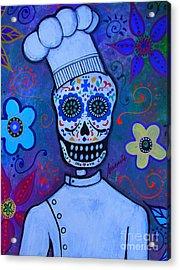 Dia De Los Muertos Cocinero Acrylic Print