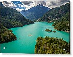 Diablo Lake  Acrylic Print by Pierre Leclerc Photography