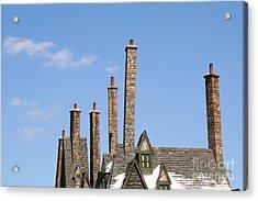 Diagon Alley Chimney Stacks Acrylic Print