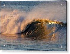 Acrylic Print featuring the photograph Diagonal Blur Wave 73a8081 by David Orias