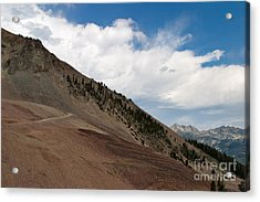 Acrylic Print featuring the photograph Diagonal Vision by Charles Kozierok