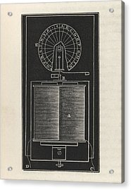 Dial Telegraph Acrylic Print by King's College London
