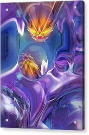 Diamond Dance Acrylic Print by Steve Sperry