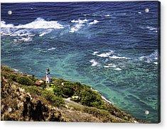 Diamond Head Lighthouse Acrylic Print by Joanna Madloch