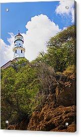 Diamond Head Lighthouse - Oahu Hawaii Acrylic Print by Brian Harig