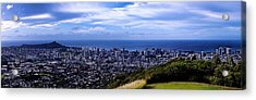 Diamond Head Acrylic Print
