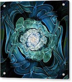 Diamond Nest Acrylic Print by Anastasiya Malakhova