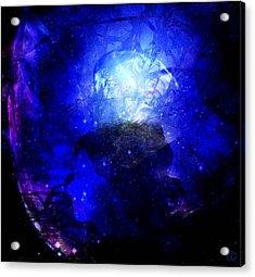 Diamond Queen Of The Night Acrylic Print by Gun Legler
