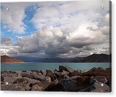 Diamond Valley Lake - California Acrylic Print by Glenn McCarthy Art and Photography