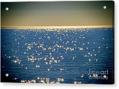 Diamonds On The Ocean Acrylic Print by Mariola Bitner