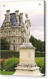 Diana Huntress Tuileries Garden Acrylic Print