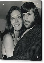 Diana Rigg And Oliver Reed To Star In Film �the Acrylic Print by Retro Images Archive
