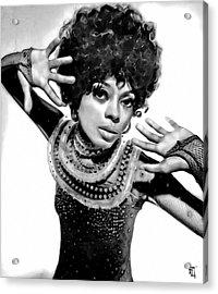 Diana Ross 2 Acrylic Print
