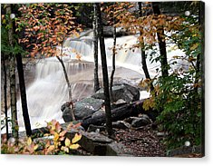 Diana's Bath Dad's View Acrylic Print by Brett Pelletier