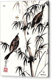 Dibs Acrylic Print by Bill Searle